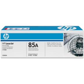 HP CE285A lasertoner, sort, 1600s
