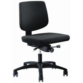 RBM 615 kontorstol med sort stel sort oxford