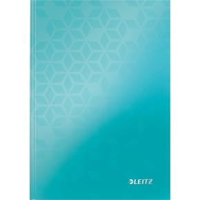 Leitz WOW notesbog A5, linjeret, pink