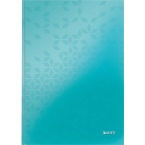 Leitz WOW notesbog A4, kvadreret, pink