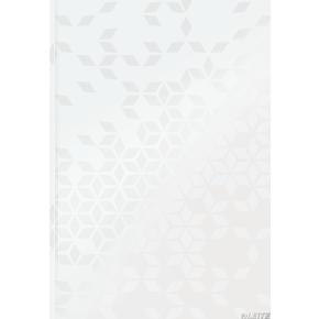 Leitz WOW notesbog A4, kvadreret, hvid