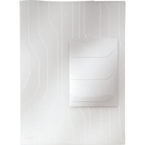 Leitz CombiFile chartek med 3 rum, hvid (3 stk.)