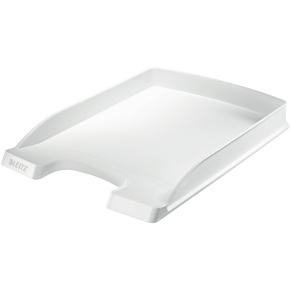 Leitz Plus Slim brevbakke, hvid