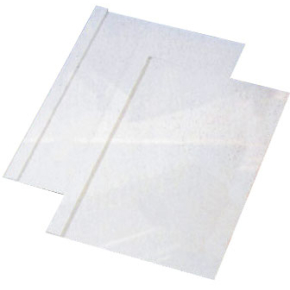 GBC Limbindsomslag, 3 mm, hvid