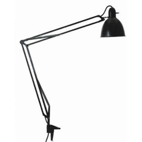 Luxo L-1 arkitektlampe, hvid