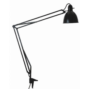 arkitektlampe Luxo L 1 arkitektlampe, sort   køb til fast lav pris   Lomax A/S arkitektlampe