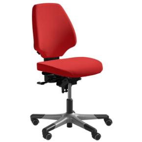 RH Activ 220 kontorstol høj ryg, medium sæde rød