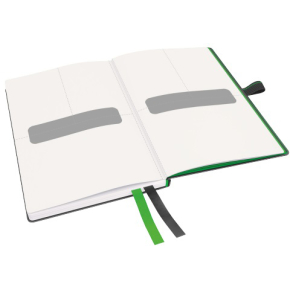 Leitz Complete notesbog A6, kvadreret, sort
