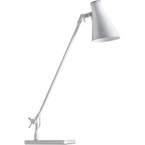 Solus 1 lampe hvid inkl. bordfod