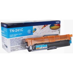 Brother TN241C lasertoner, Cyan, 1400 sider