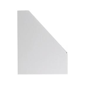 Pap tidsskriftholder A4 Maxi, hvid