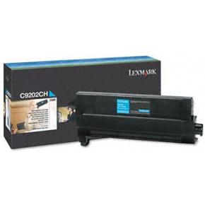 Lexmark C9202CH lasertoner, blå, 14000s