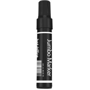 b.n.t. Office Jumbo permanent marker, 10mm, sort