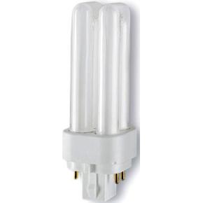 Osram Dulux D/E Kompakt Lysstofrør 18W/830, G24q-2