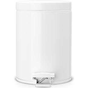 Brabantia Pedalspand 5 liter, hvid