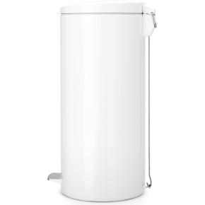 Brabantia Pedalspand 30 liter, hvid