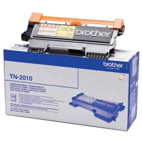 Brother TN2010 lasertoner, sort, 1000s