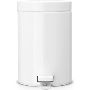 Brabantia Pedalspand 3 liter, hvid