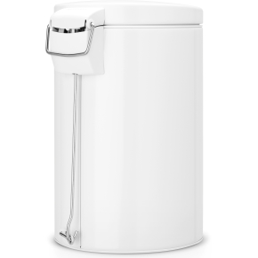 Brabantia Pedalspand 12 liter, hvid