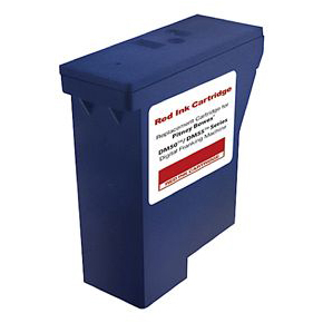 Compatible Pitney Bowes DM50, DM55, K700 red ink