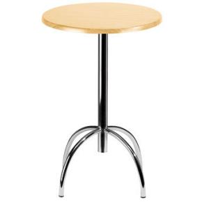 Riviera cafébord H108,5 x Ø60 cm, 4 ben, sort