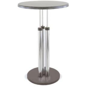 Riviera cafébord, h. 108,5 x Ø. 60 cm, sort