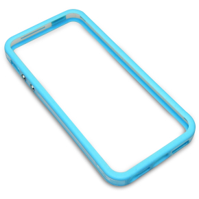 Sandberg Pro frame Clear+Blue iPhone 5/SE