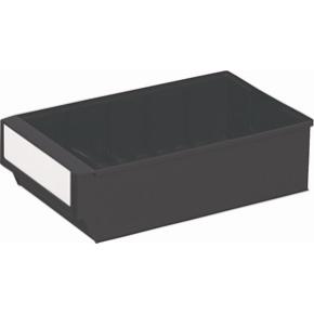 Systemkasse 2, (DxBxH) 300x183x81, Mørkegrå