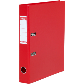 Elba Strong-Line brevordner A4, 50mm, rød