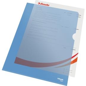 Esselte Copysafe omslag A4, 0,11mm, 100stk, blå
