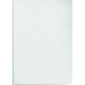Bagside læderkarton A4, hvid