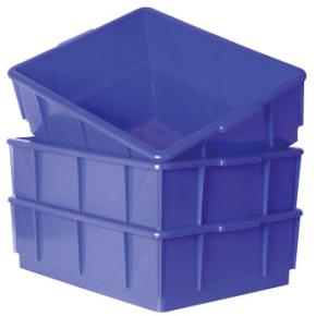 Lagerkasse 13 l, Blå, (LxBxH) 420x320x125 mm