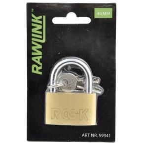 Rawlink hængelås, 40 mm