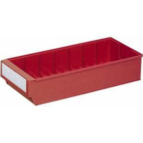 Systemkasse 4, (DxBxH) 400x183x81, Rød