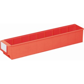 Systemkasse 6, (DxBxH) 500x91x81, Rød