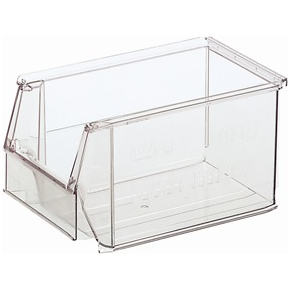 Systembox 4, (DxBxH) 230x150x130, Transparant