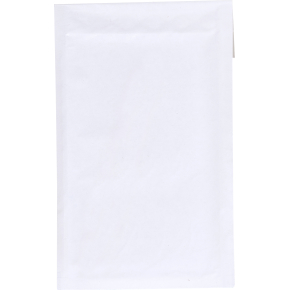 Boblekuvert udv. 140 x 225mm, hvid