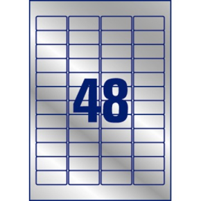Avery L6009-20 stærke etiketter, 45,7 x 21,2mm