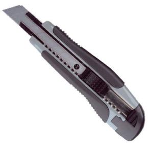 Soft Cut hobbykniv, 18mm klinge, med gummigreb