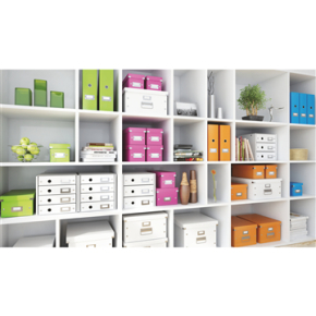Leitz Click & Store opbevaringsboks large, sort