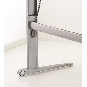 STEADY hæve/sænkebord 180 cm venstrevendt, ahorn