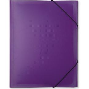 DocuSmart elastikmappe A4, PP, lilla