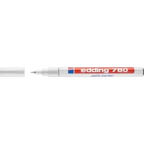 Edding 780 paintmarker 0,8mm, hvid