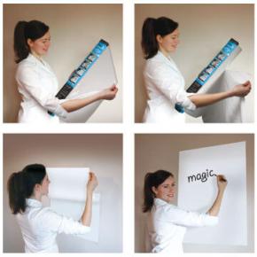 Magic Whiteboard Folie A1 25 ark