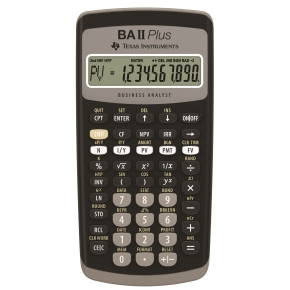 texas instruments ba ii plus manual
