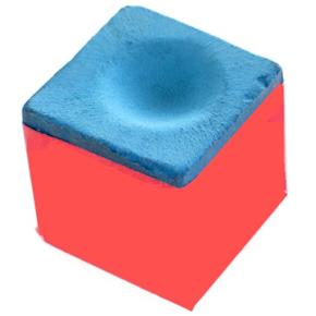 Pro Play blå kridt til pool kø