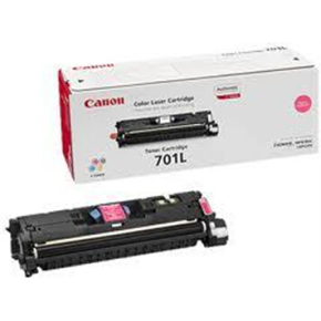 Canon nr.701LM/9289A003 lasertoner, rød, 2000s