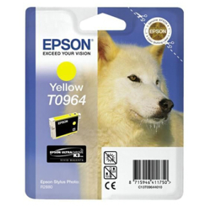 Epson nr.T0964/C13T09644010 blækpatron, gul, 450s
