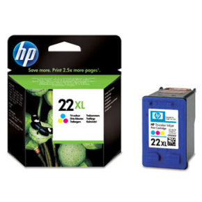 HP nr.22XL/C9352CE blækpatron, 3-farvet, 415s