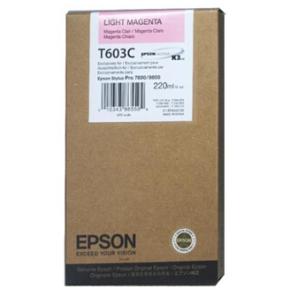 Epson C13T603C00 blækpatron, lys rød, 220ml
